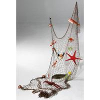 Fishing-Net with Sea Creatures