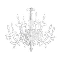 Chandelier for decoration