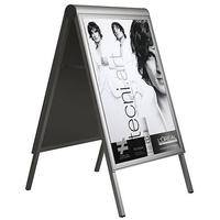 "Attachment sign for poster stand ""Compas"