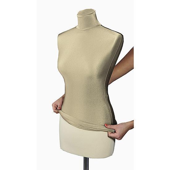 Replacement cover for female tailor bust