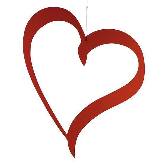 Heart Silhouette Etalage Decoratie