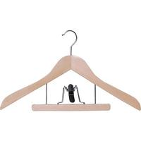 Combo hanger with trouser clamp