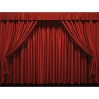 "XXL Fabric print ""Stage curtain"""