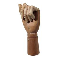 Male wooden hand
