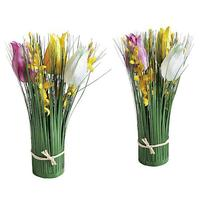 Tulips forsythia bundle
