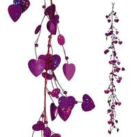 Decorative hearts tendril