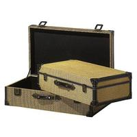Suitcases set, square