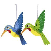 Hummingbird hanger set