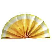 Paper fan fruit motif Citroen