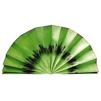Paper fan fruit motif Kiwi