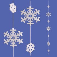 Snow crystals string