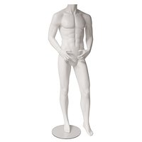 "Male mannequin ""Classic White Headless"""
