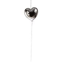 Heart balloon hanger