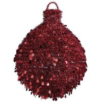 Giant tinsel ball 70cm Ø