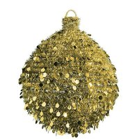 Giant tinsel ball 100cm Ø