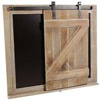 Rustic sliding board