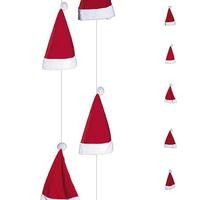 Santa Claus hat chain