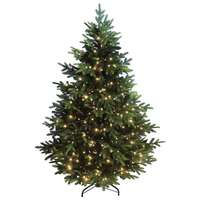 Norway spruce with LED