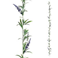 Deluxe Lavender tendril