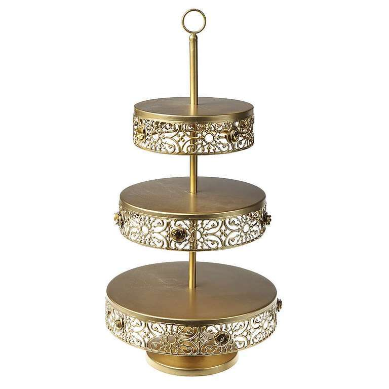 Etagere gold 60cm hoch