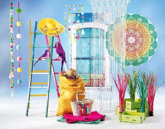 Zomer 105 thema deco idee n etalage decoratie for Decoratie zomer