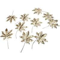 Maple leaves Gold - 10 stuks