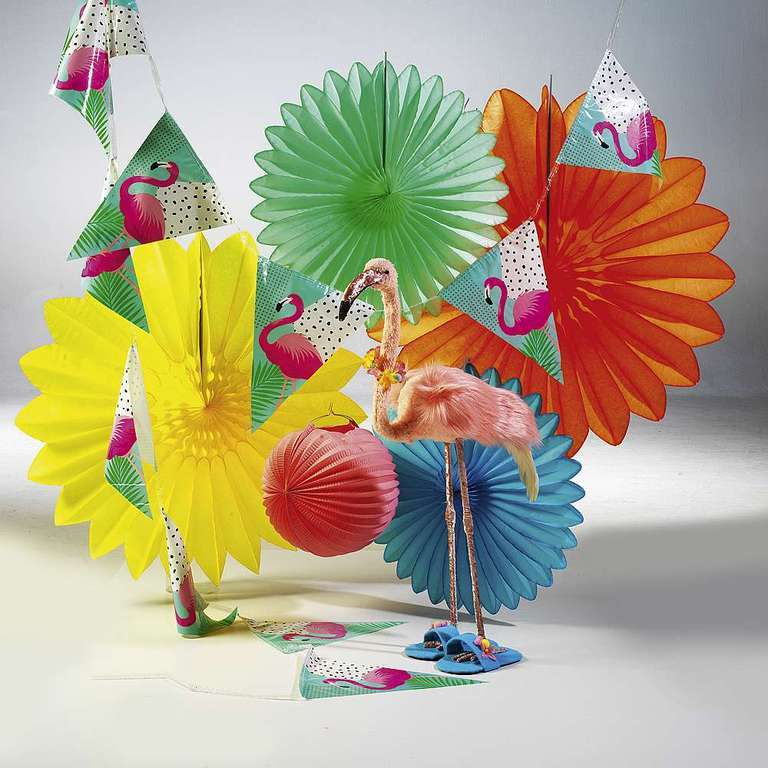Deco set Flamingo Party