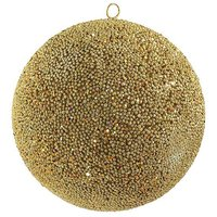 Sequins ball Ø 30 cm gold