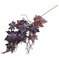 Artificial maple tendril lilac/black