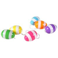 Easter Eggs Stripes 6cm