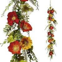 Poppies garland bunt 150cm