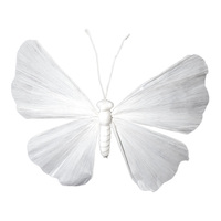 Butterfly 90cm - White