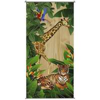 Banner 100x200cm Jungle Animals