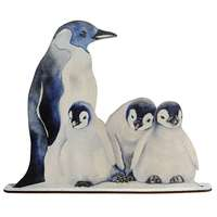 Deco Penguin Family presenter