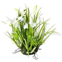 Artificial spring flowers, white
