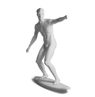 Sportfiguur Surfer Man - wit
